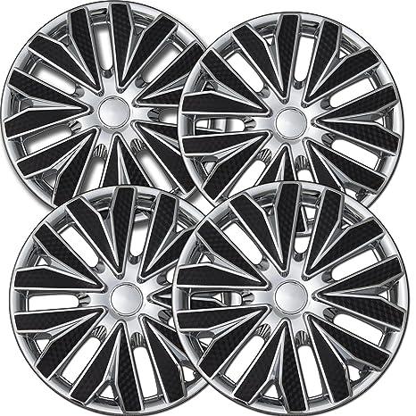 Tapacubos para Nissan Versa (Pack de 4) fundas para ruedas – 15 inch,
