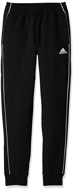 Black White adidas Youth Unisex Soccer Core18 Sweat Pant