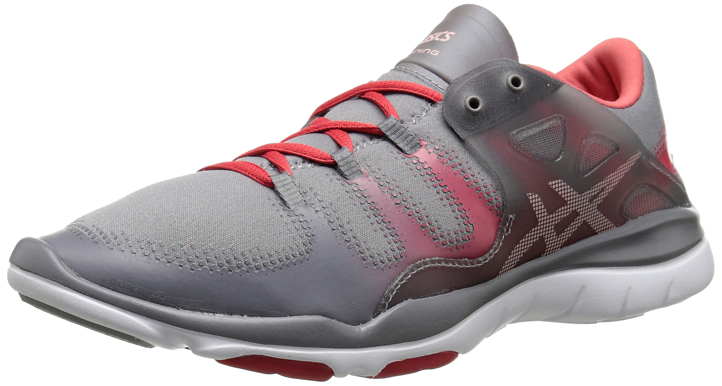 ASICS Women's Gel Fit Vida Fitness Shoe, Taupe/Cotton Candy/Coral Rose, 6 M US