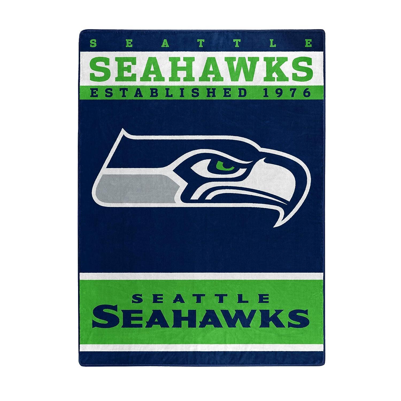 NFL 12th Man フラシ天 ラッセル 80インチ ブランケット 60インチ × 80インチ × ラッセル ブルー B00KW4VXE6, しがけん:4f433b64 --- krianta.ru