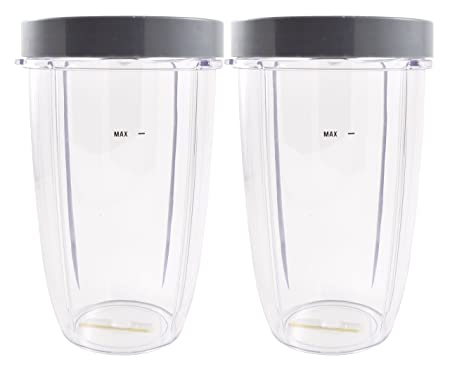 Nutribullet licuadora 24 oz taza de altura con borde potable (2 ...