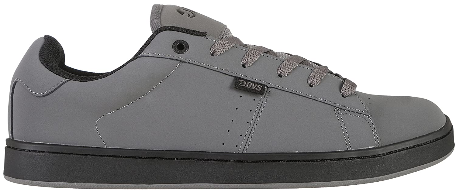 White//Grey DVS Men/'s Revival 2 Skate Leather Trainers