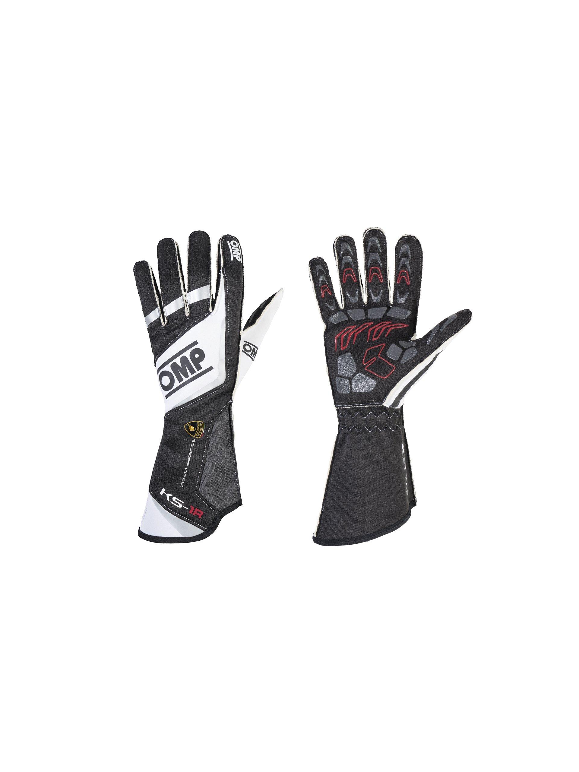 Automobili Lamborghini Accessories Kart Driver Gloves From Omp Xl Black