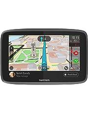 Navigatore TomTom GO 6200 GPS 6 Pollici, Chiamata in Vivavoce, Siri & Google Now, Aggiornamenti da Wi-Fi, Traffic a Vita da Scheda SIM e Mappe del Mondo, Messaggi dello Smartphone, Schermo Capacitivo