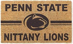 KH Sports Fan Penn State Nittany Lions Logo Team Coir Doormat, Multi