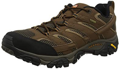 7248731a832 Merrell Moab 2 GTX Chaussures de Randonnée Basses Homme  Amazon.fr ...
