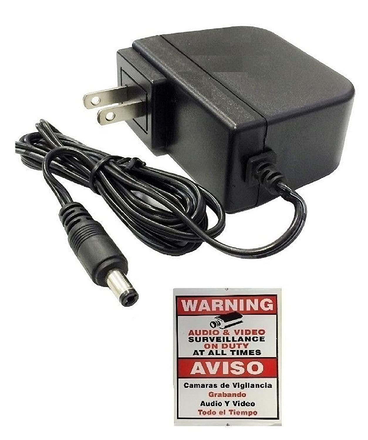 Amazon.com: Wennow Security AC/DC 12V 2-Amp Power Adapter Splitter Cable for CCTV Security Camera: Home Audio & Theater