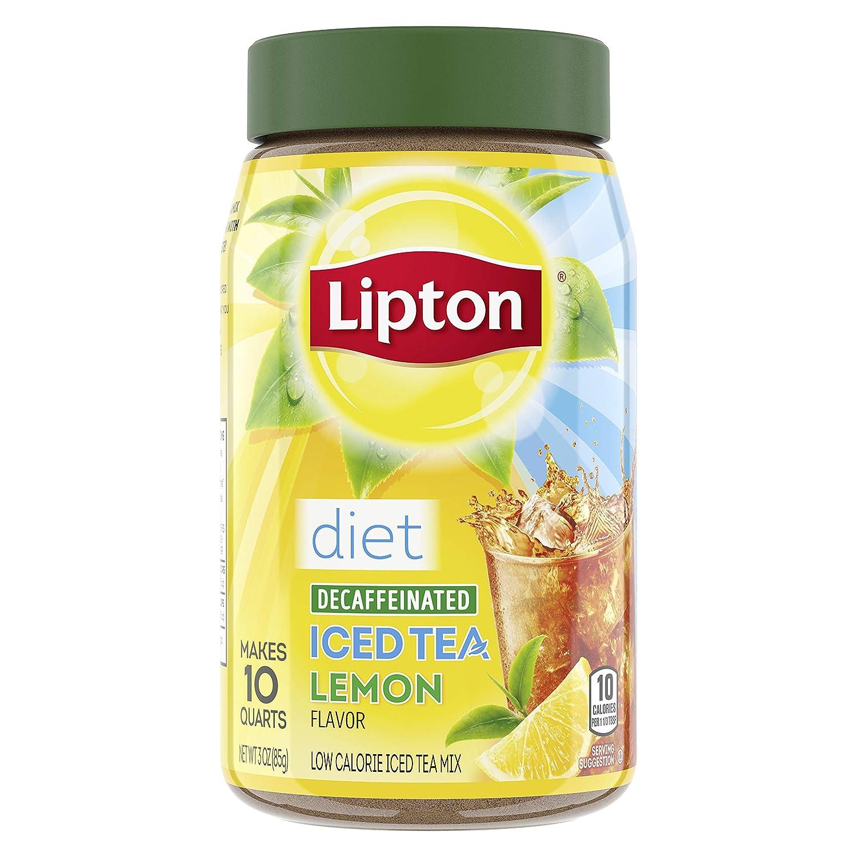 Lipton Iced Tea Mix - Diet Decaffeinated Lemon - 3 oz