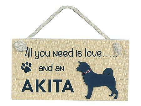 Cartel de Madera para Mascotas, con Texto en inglés All You ...