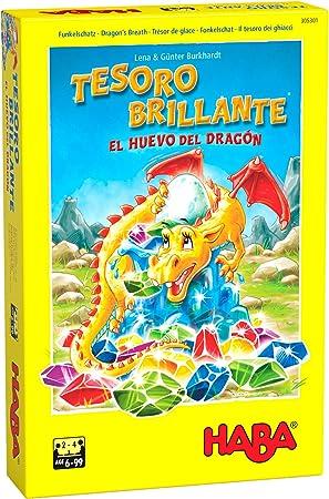 Haba Juego de Mesa Tesoro Brillante-El Huevo del Dragón-ESP, Multicolor (H305301): Amazon.es: Juguetes y juegos