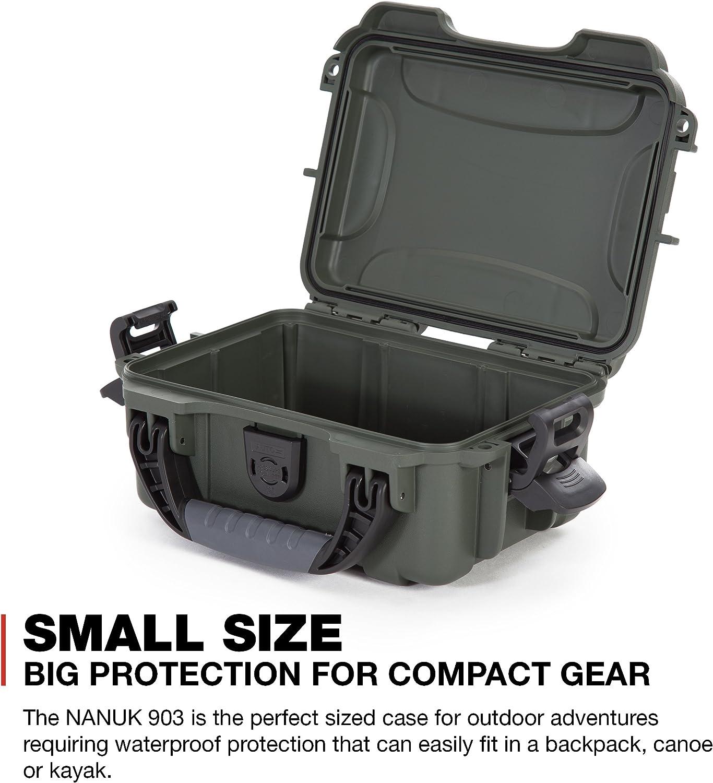 Olive Nanuk 903 Waterproof Hard Case Empty