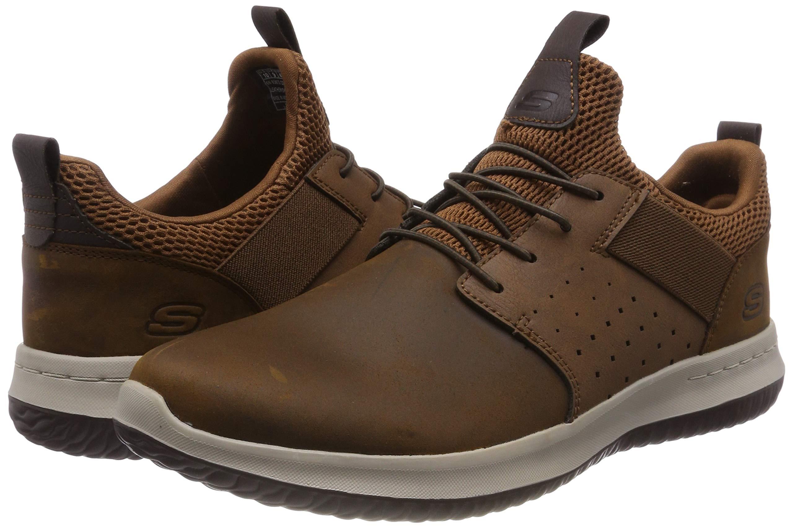 Skechers Men's Delson-Axton Sneaker