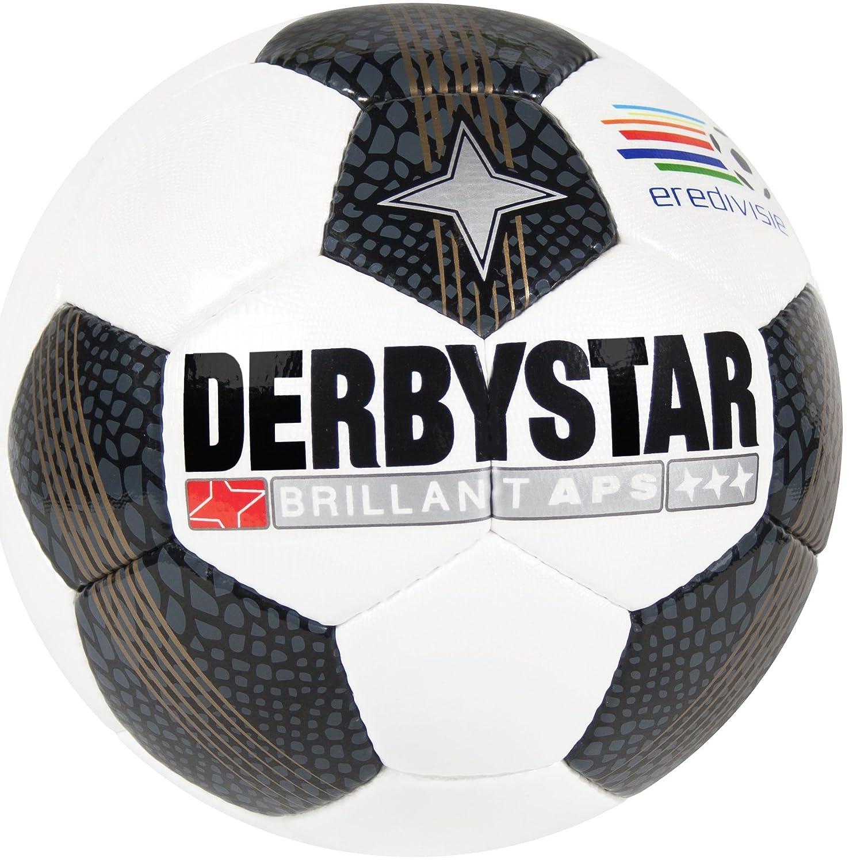 Derbystar fútbol Brillant APS Eredivisie, Color Blanco/Negro/Oro ...