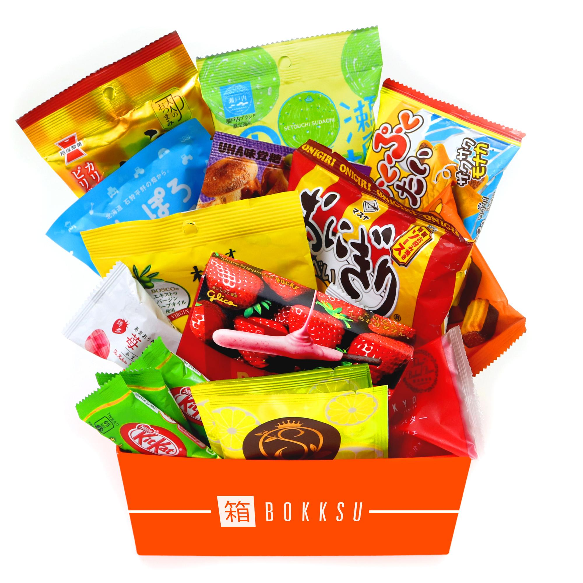 Bokksu - Authentic Japanese Snack & Candy Subscription: Classic Box $21