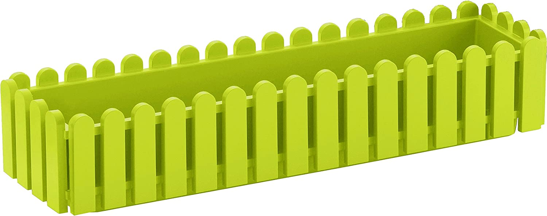 Jardinera PLASTICO 75X20X16 Verde Claro