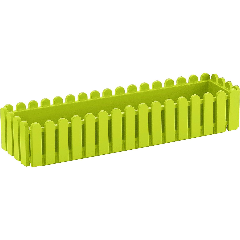 Emsa 508695 LANDHAUS Window Box, 75 x 20 x 16 cm, green Emsa GmbH 272231