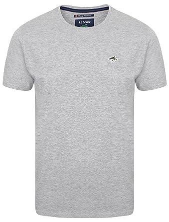 Le Shark - Camiseta - Liso - para Hombre Gris Lt Grey Marl Small ...