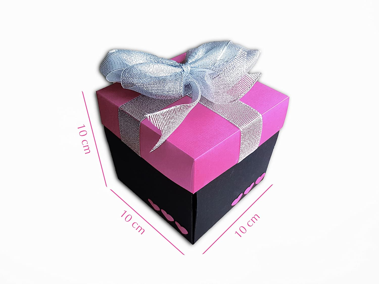 Amazon Love Explosion Gift Box Photo Album Pink 100 Handmade With Craft Paper Arts Crafts Sewing