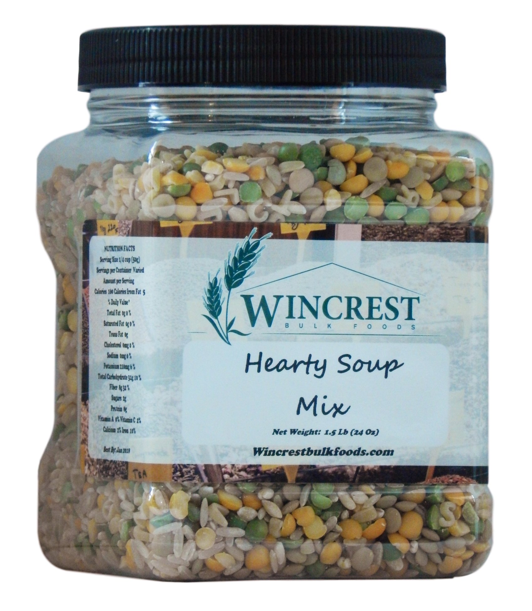 Hearty Soup Mix - 1.5 Lb (24 Oz) Tub