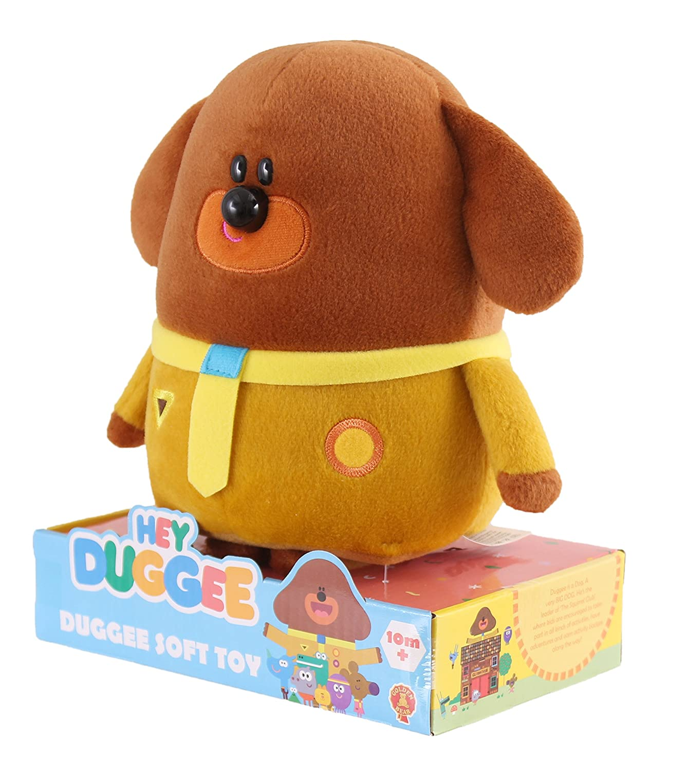 Hey Duggee Soft Toy Golden Bear Products Amazon Toys & Games