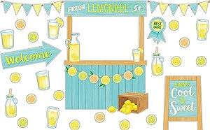 Teacher Created Resources Lemon Zest Lemonade Stand Bulletin Board (TCR8491)