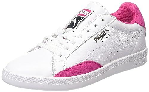 Match Lo Basic Sports, Zapatillas para Mujer, Blanco (White/Purple 20), 40.5 EU (7 UK) Puma