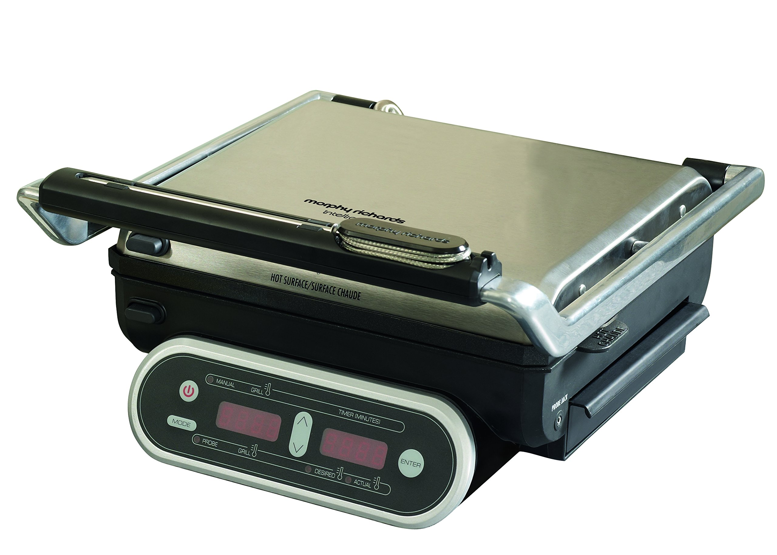 Morphy Richards Intelli Grill 48018 Digital Cooking Grill, Stainless Steel by Morphy Richards