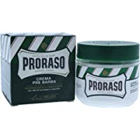 Proraso Refreshing And Toning Pre-Shave Cream with Eucalyptus Oil & Menthol by Proraso for Men - 3.38 oz Pre-Shave Cream
