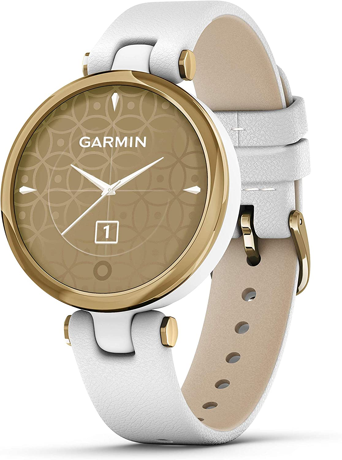 Power Bundle Leather Band Garmin Lily Classic Small /& Stylish Womens Smartwatch with PlayBetter 2200mAh Portable Charger Dark Bronze//Paloma Leather GPS Fitness Smartwatch