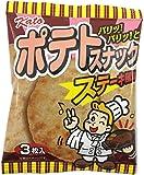かとう製菓 ポテトスナック(ステーキ風味) 3枚入×20箱
