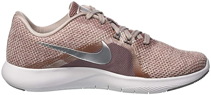 b137b9beb5327 Nike Women's W Flex Trainer 8 PRM Competition Running Shoes, Multicolour  (Smokey Mauve/Diffused Taupe/Gunsmoke 200), 3 UK: Amazon.co.uk: Shoes & Bags