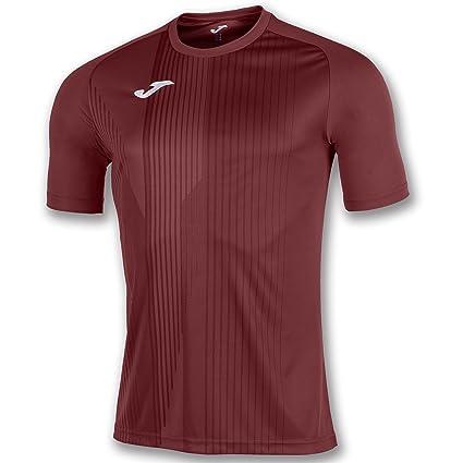 Joma T-Shirt Tiger M/C Burgundy