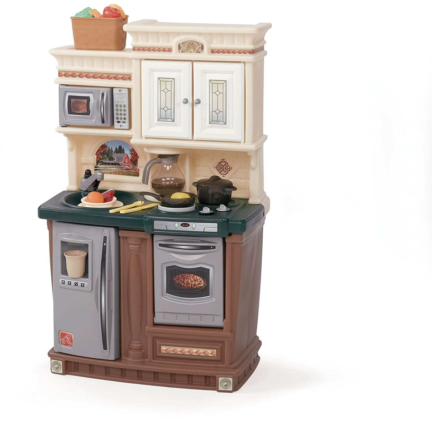 Amazon.com: Step2 LifeStyle New Traditions Kitchen Set: Toys & Games