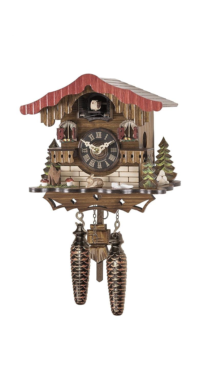 クォーツ式鳩時計 スイスの家 メロディー付 B07FKYJJL3