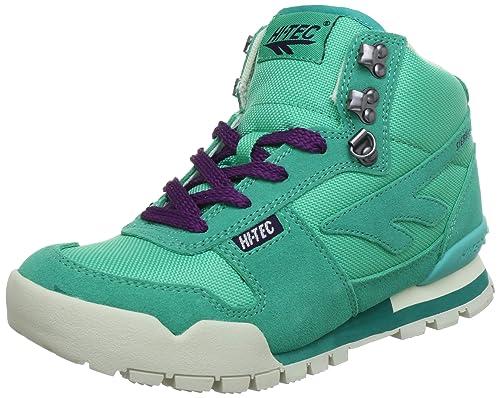Hi Tec Sierra Lite Original W` HTO002406 - Zapatillas de deporte de cuero para mujer, color verde, talla 36: Amazon.es: Zapatos y complementos