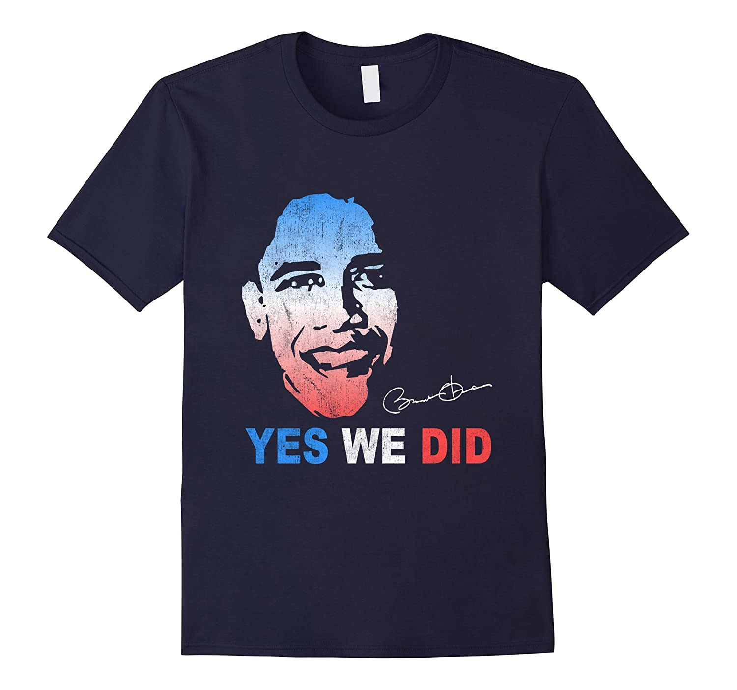Barack Obama Yes We Did T-Shirt-CL