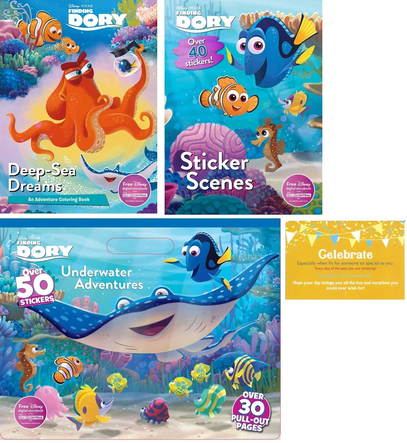 - Finding Dory Coloring Experience Bundle, 3 Finding Dory: Amazon.in