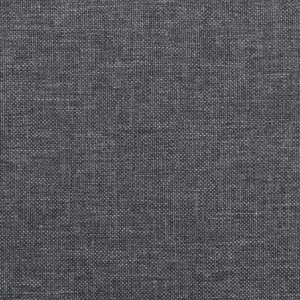 Xingshuoonline Poltrona in Tessuto Grigio Chiaro Poltrona profondit/à del Sedile 49/cm