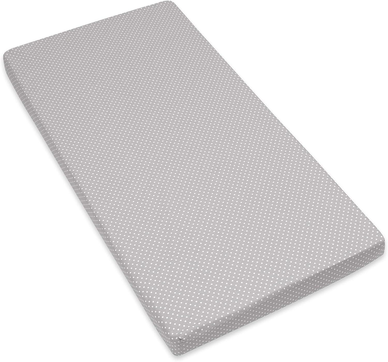 Amilian Drap-housse pour lit b/éb/é 60 x 120 cm 70 x 140 cm 100/% coton pour b/éb/é