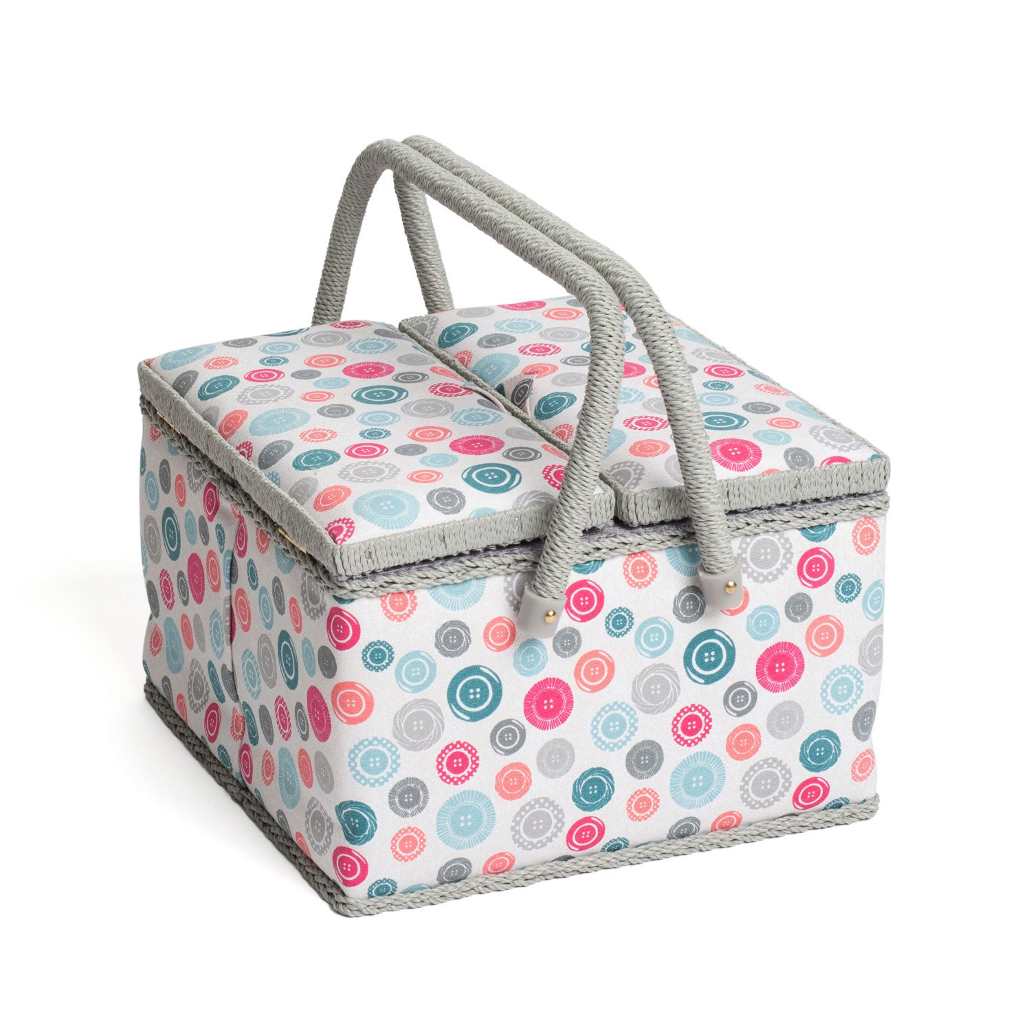 Hobby Gift MRL/187 | Contemporary Notions Large Sewing Box | 23½x31x20cm Groves Asia