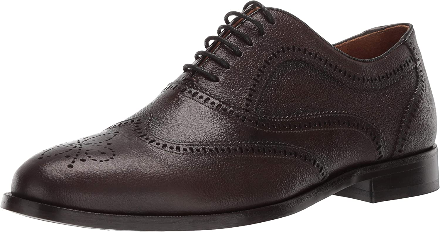 MARC JOSEPH NEW YORK Men's Leather Madison Lace-up Oxford