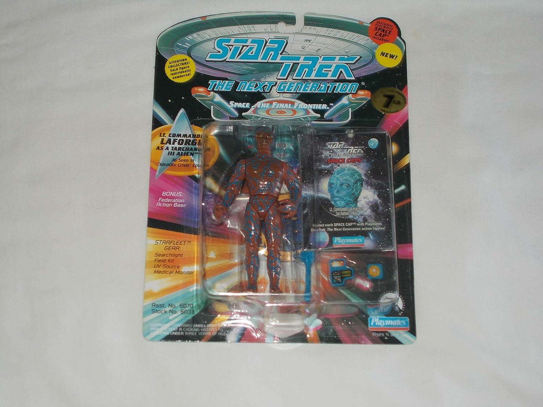 STAR TREK The Next Generation Lt. Commander Laforge as Tarchannen III Alien Action Figure