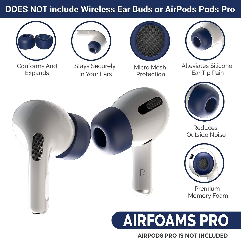 Charjenpro Airfoams Pro Premium Memory Foam Ohrpolster Elektronik