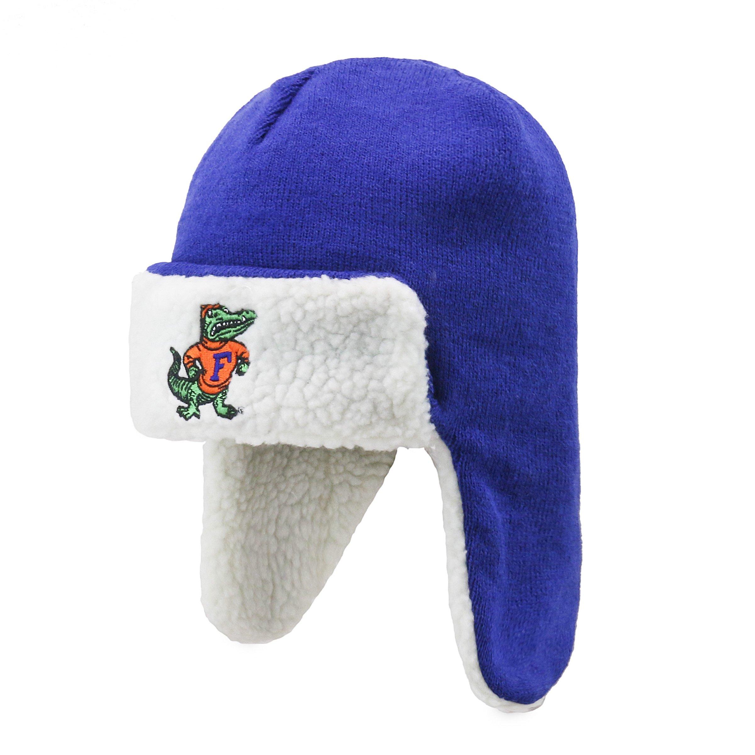 NCAA Men's Florida Gators OTS Breck Sherpa Hunter Knit Cap, One Size, Vintage by OTS