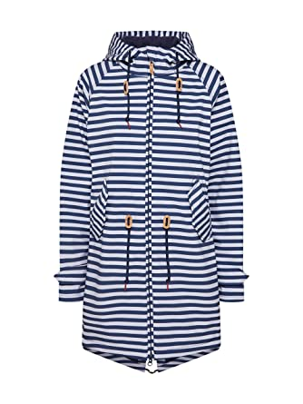 derbe Damen Softshelljacke Island Friese Striped: