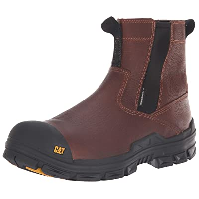 Caterpillar Men's Throttle Nano Toe Wp Construction Boot | Industrial & Construction Boots