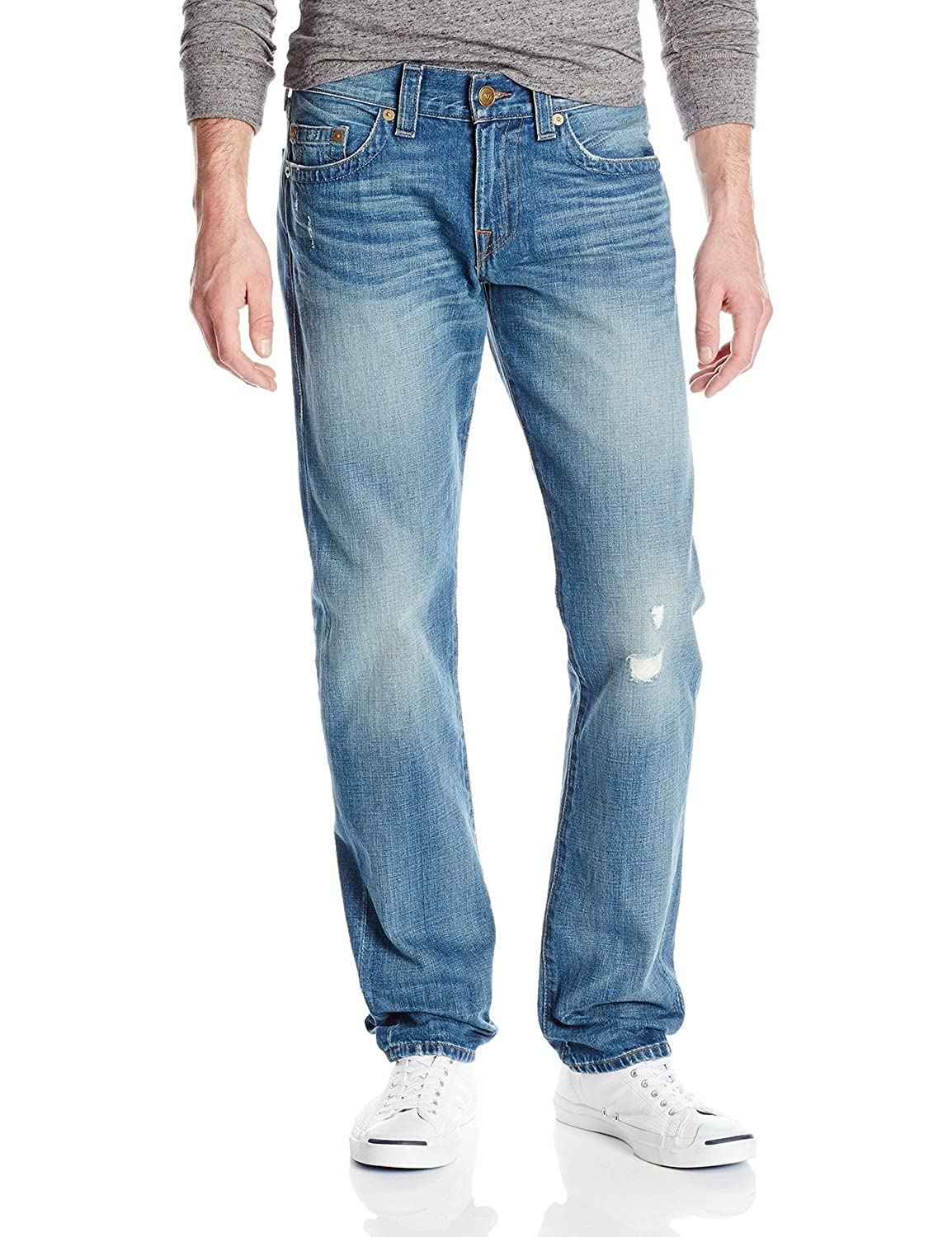 True Religion Men's Geno Relaxed Slim Fit Jean