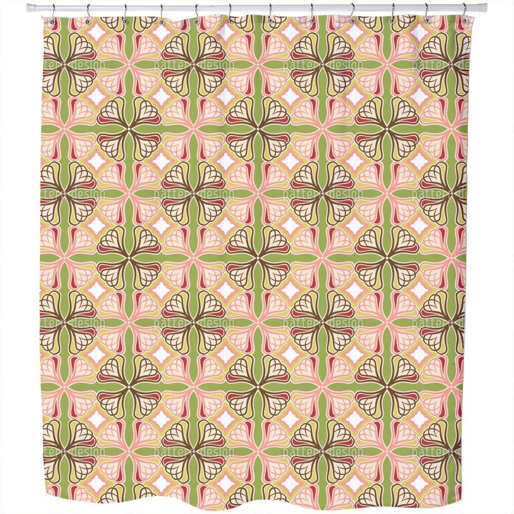 Uneekee Changed Perspective Shower Curtain: Large Waterproof Luxurious Bathroom Design Woven Fabric