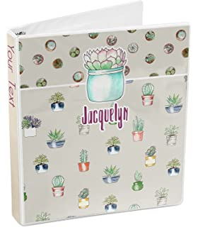 Cactus 3-Ring Binder (Personalized)