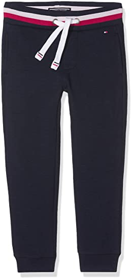 c2e222ec Tommy Hilfiger Boy's AME Sweatpant Sports Jogger, Blue (Navy Blazer), 14  Years